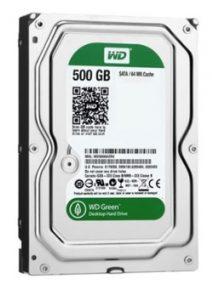 هارد وسترن دیجیتال Green 500GB