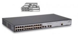 سوئیچ شبکه اچ پی 24Port V1905 JD992A